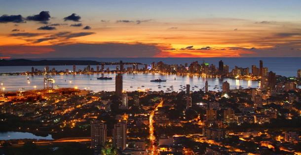 610х320 Картахена Колумбия