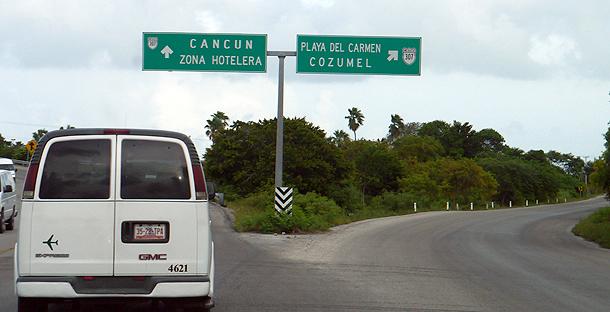 610 Дорога в Канкун