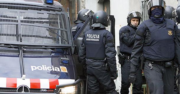 610 Полиция каталонии