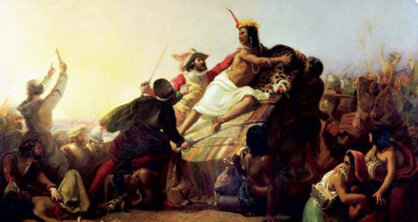 610 Пленение-Атауальпы