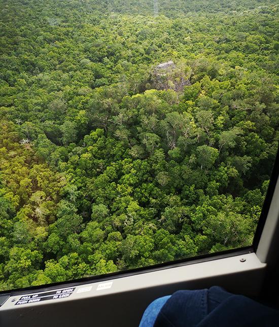 07 Вид за пирамиду Ла-Данта с вертолета 550