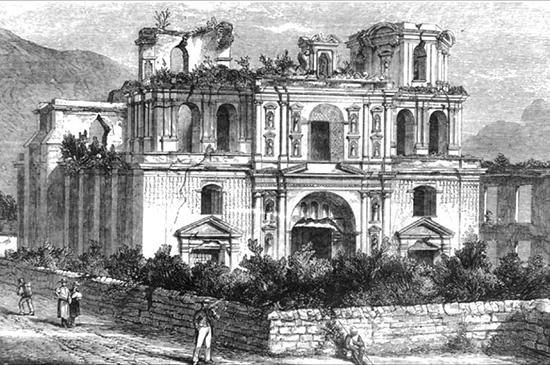 12 Землетрясение 1773 года Антигуа 550