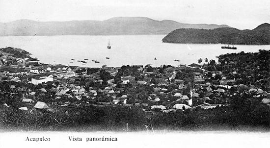 02 Панорамный вид на бухту Акапулько 550