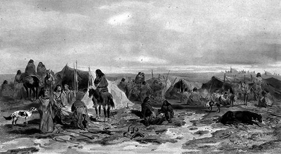 07 Дикие племена индейцев в аргентинской пампе 550