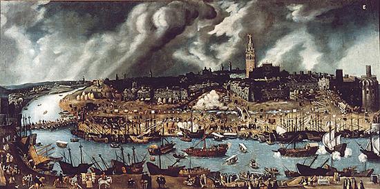 550 Севилья в XVI веке